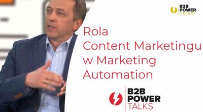 S03E18 - Rola Content Marketingu w Marketing Automation
